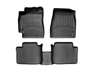 Weathertech Floor Mats Floorliner For Toyota Camry 02 06 1st 2nd Row Black