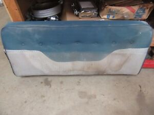 1953 1954 Pontiac Chieftain 4 Door Sedan Interior Front Upper Bench Seat Frame