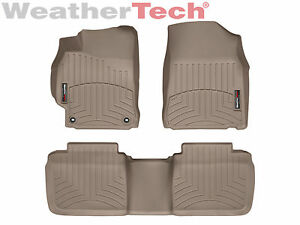 Weathertech Floorliner Mats For Toyota Camry 2012 2014 5 1st 2nd Row Tan