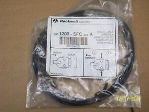 New Rockwell Automation Serial Cable Assembly 1203 sfc