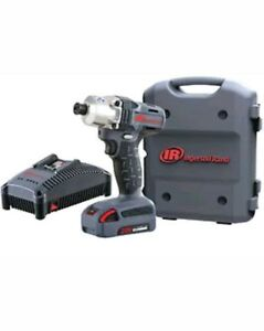 Ingersoll Rand W5110 K12 1 4 Hex Cordless Impact Driver Kit