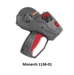 New Monarch 1136 01 Label Gun 2 line Pricing Gun Authorized Mona