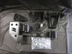 Hasport Black Egklean2 92 95 Civic 94 00 Integra Lean K Swap Engine Mount Kit