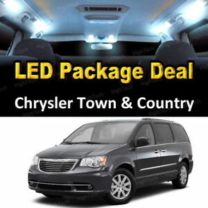 For 2001 2017 Chrysler Town Country Led Lights Interior Package White 9pcs