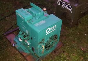 Onan Two Cylinder Diesel Engine Generator Pump Djb Dje Mep002a Electric Start