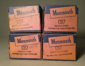 Vintage Monmouth Cb7 Engine Bearing Nos 32 38 Ford Flathead Lot Of 4