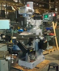 Southwest Ind Prototrak Trak K3 3 Axis Cnc Mill With Age 3 Control inv 35411