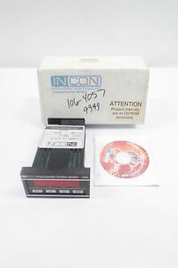 Incon 1250b 4 r s Programmable Position Monitor 120v ac Meter