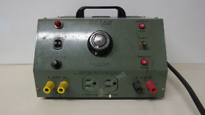 Vintage Lab volt 190 Variac Ac Dc Variable Output Bench Power Supply 1