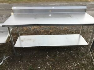 Win holt Commercial 72 Heavy Duty Stainless Steel Prep work Table