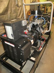 50 Kw 2010 Generac Natural Gas Lp Generator 6 8lpn 50 1800 Rpm 12181860200