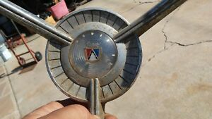Ford Steering Wheel Horn Button Nice Shape Complete 1959