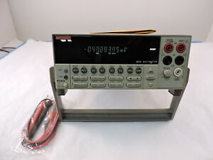 Keithley 2010 7 5 Digit Low Noise Bench Top Digital Multimeter 90 Day Warranty