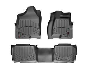 Weathertech Floor Mats Floorliner For Hummer H2 2003 2010 1st 2nd Row Black