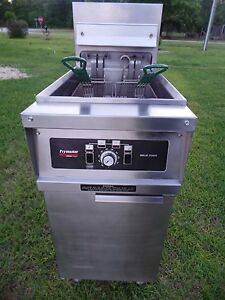 Frymaster Electric Deep Fryer Model H114sc 240v 3ph Xtra Clean Nice Condition