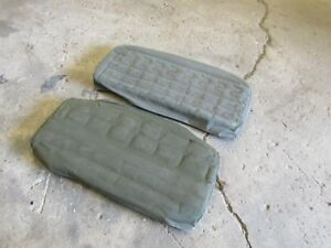 Jeep Willys M38 M38a1 Nos Lower Rear Seat Cushion Early S Style Springs