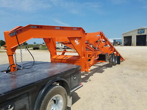 New 2018 24 Gooseneck Container Trailer