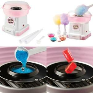 Cotton Candy Maker Tabletop Machine Kids Gift Birthday Party Sugar Cones Carniva