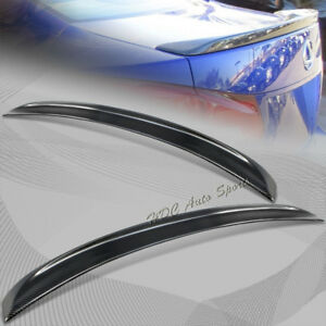 For 2006 2013 Lexus Is250 Is350 Carbon Fiber Rear Tail Trunk Lid Spoiler Wing