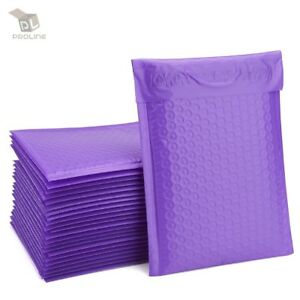 250 Purple Poly Bubble Padded Envelopes Self sealing Mailers 6x10 inner 6x9