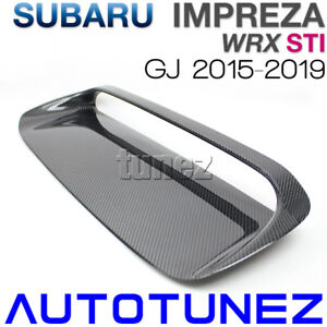 Carbon Fiber Air Hood Scoop Intake Vent Bonnet For Subaru Wrx Sti Gj 2015 2016 U