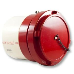 6 Male Dry Hydrant Straight Adapter With Aluminum Cap