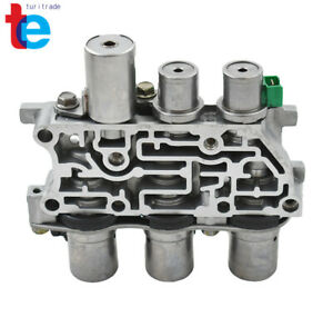 Transmission Solenoid Block Solenoid Pack 4f27e Tested Fit For Ford Mazda