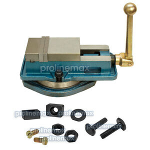 3 Accu Lock Precision Vise W Swivel Base Milling Drilling Machine Bench Clamp