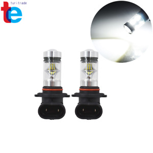2x 9006 Hb4 2323 Smd 100w Led High Power 6000k Fog Driving Lights Bulbs