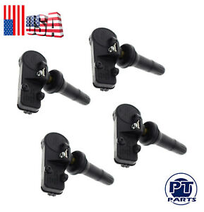 4 Tire Pressure Monitor Sensor For Gm Buick Cadillac Chevy Hummer Pontiac Saturn