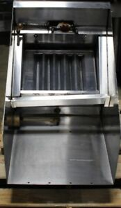 American Hood Systems Stand Alone Ventless Hood Stainless Steel