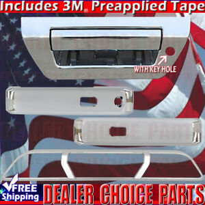 2015 2018 Ford F150 Chrome Door Handle Covers Tailgate Brakelight Smartkey Nocam