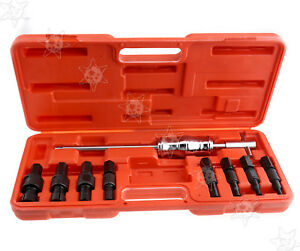 Inner Bearing Puller Set Remover Slide Hammer Internal Kit 8 32mm 9pc Blind Hole