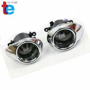 Clear Lens Driving Fog Lights Bumper Lamps Bulbs Fit For 2012 2014 Ford Focus
