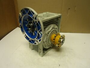 Motovario Nmrv 090 Double Output Right Angle Gearbox 40 1 Ratio