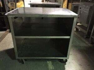 Stainless Steel Cart On Casters 41 Wide Unit 2