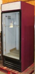 Commercial Glass Door Display Cooler Beverage Air Mt27 21 Cubic Feet