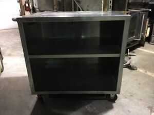Stainless Steel Cart On Casters 41 Wide Unit 3