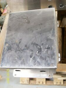 Hoffman Stainless Steel Enclosure Junction Box A 100bchnfss
