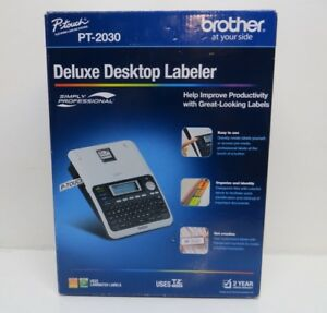 Brother P touch Deluxe Desktop Labeler Pt 2030