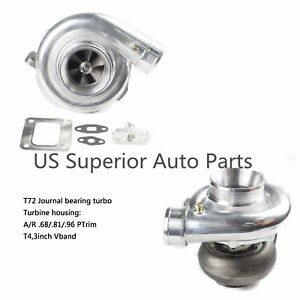 Universal Performance T4 Turbo T72 Turbocharger 96a r 3 Vband Rear Housing