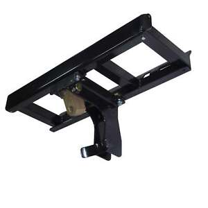 Skid Steer Auger Frame Bracket Attachment