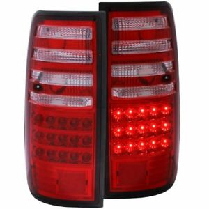 Anzo 311095 1991 1997 Toyota Land Cruiser Fj Led Taillights Red clear