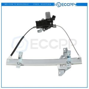For 1997 2005 Buick Century Rear Driver Side Power Window Regulator With Motor