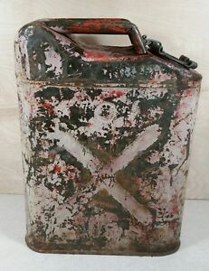 5 Gallon Usmc 1968 Military Fuel jerry Can