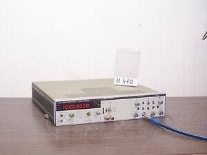 Hp 5328a Universal Counter Frequency Meter 100mhz Opt 010 021 041 H410