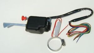Lot Of 2 Two Each Black Universal Turn Signal Switch Top Quality Bulk Hot Rod A