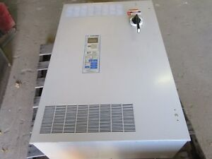 Yaskawa 75hp Ac Drive W bypass E7bvb096y 75hp 3ph In 480v 106a Out 0 480v 96a