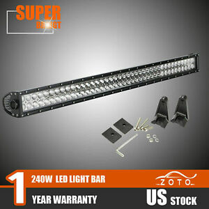 40 240w Led Light Bar Offroad Marine Waterproof Truck Offroad Suv Utv Sxs 4wd