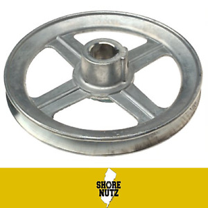 Die Cast Single V Groove Zinc Pulley A Belt 6 Od X 1 2 Bore 600a5